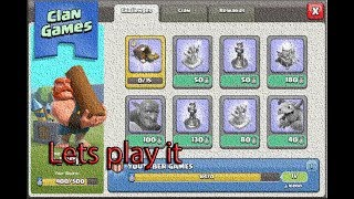 LIVE complete Clan Games Clash of clans#44.5 Late Night Stream