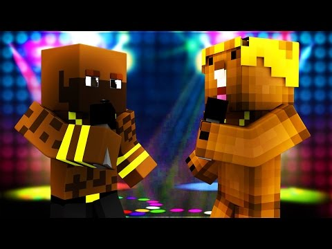 Minecraft WHO'S YOUR DADDY? RAP BATTLE - RICK ROSS VS. JUSTIN BEAVER!