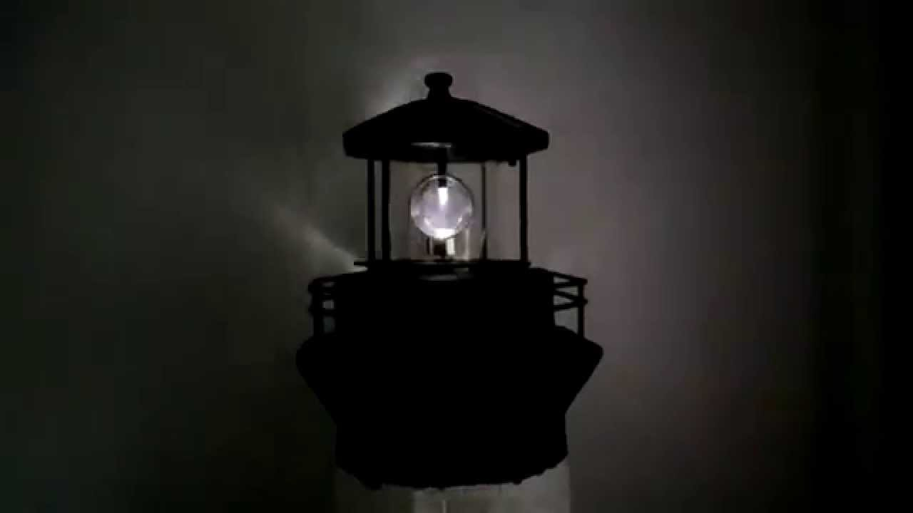 Solar Leuchtturm gro 76 cm schwarz wei Dekoration fr den Garten am Teich mit Licht Deko  YouTube