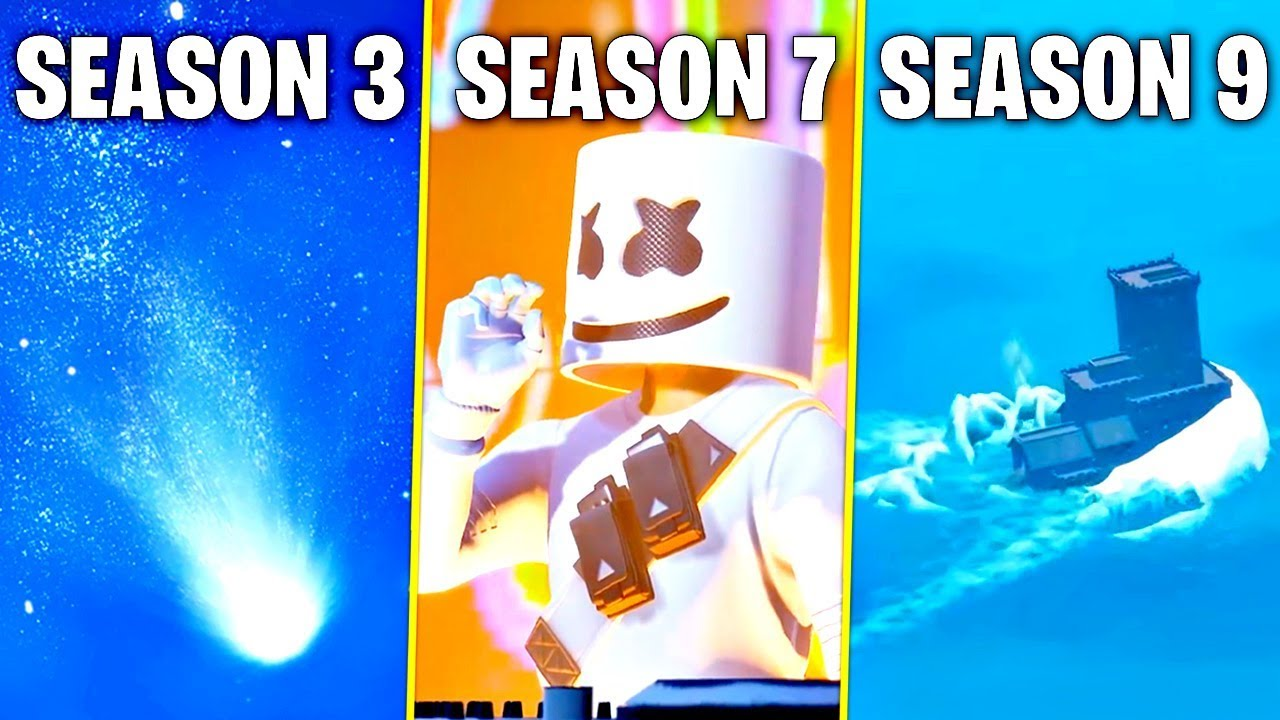 Fortnite season 10: A new mech, rift zones and a giant meteor