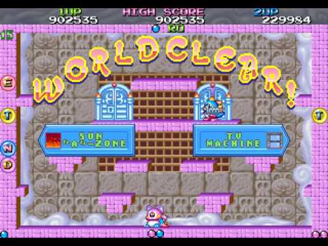 Bubble Symphony arcade 2 player Netplay true ending 60fps