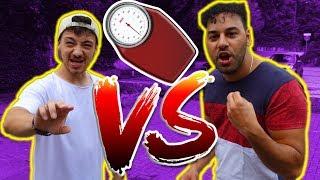 Wer nimmt an 1 TAG schneller AB?  Moozy vs Bugra |  FaxxenTV