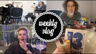 Secret Projects and Smear Tests ♥ Weekly Vlog ♥ Carrie Hope Fletcher