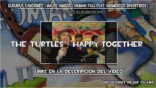 ElRubiusOMG Canciones ~ MALOS AMIGOS | Human Fall Flat (Momentos Divertidos)