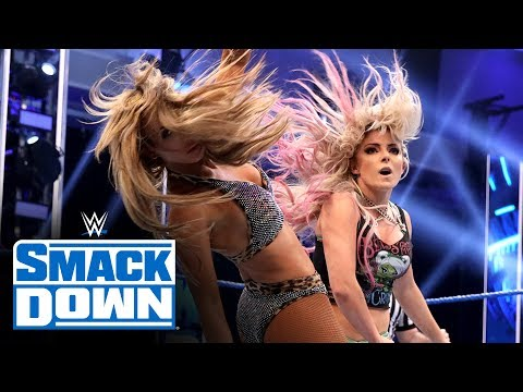 Bliss & Cross vs. Carmella & Brooke – Women's Tag Team TItle Match: SmackDown, April 24, 2020