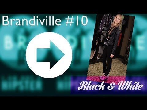Brandi Cyrus And Jenn McAllister Give Tips On How To Rock Black And White!