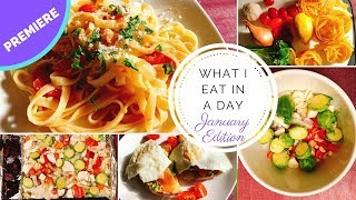 What I Eat in a Day - Mediterranean Diet - January 2019