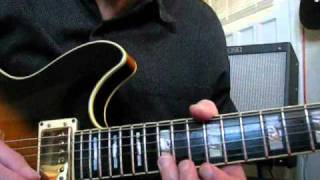 STRANGLEHOLD Ted Nugent SOLO GUITAR LESSON Part 2
