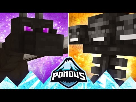 Pondus #10 - WITHER BOSS vs ENDER DRAGON?!
