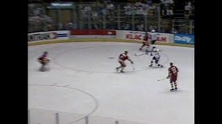 1990 NHL SCP Game 4 Calgary at Los Angeles    Division Semi Final Game 4 Apr 10