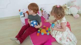 Видео-обзор диванчик Sofia-Kids
