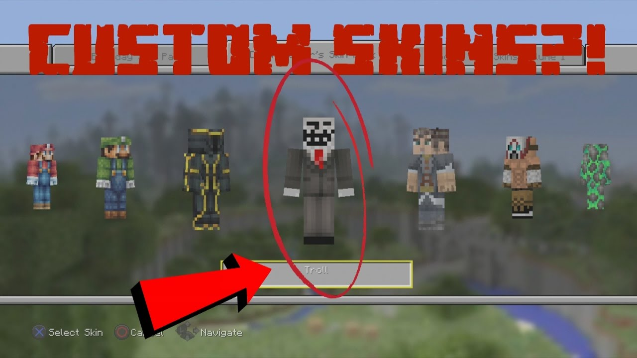 Minecraft PS11 Edition : Custom Skins (Read Desc.)