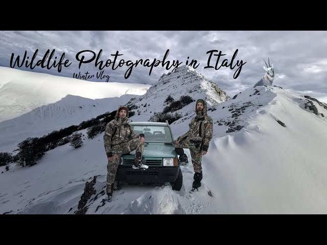 Winter Photography | Vlog wildlife | Parco Nazionale Dei Monti Sibillini