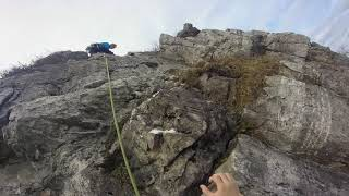 Palestra di roccia del Campo dei Fiori (Varese)- via Sinistra del Fo