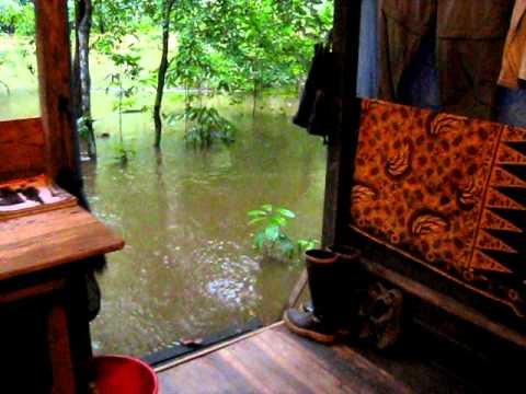 Flood at Rumah Pantai
