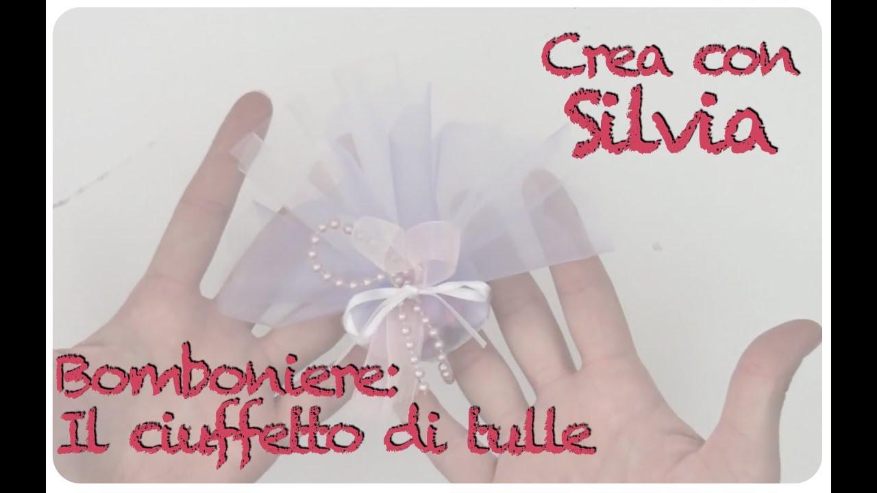 Bomboniere Ciuffetto Di Tulle Con Confetti Fai Da Te Diy Youtube