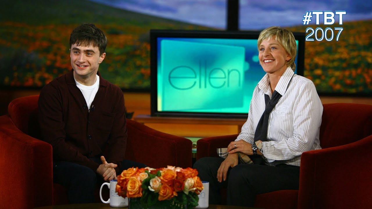 #TBT 2007: Daniel Radcliffe on Growing Up as Harry Potter