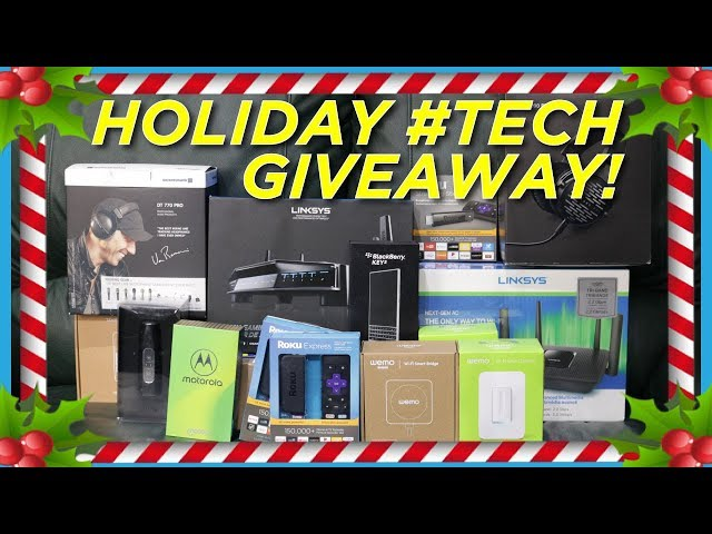 Our Holiday Tech Giveaway!!