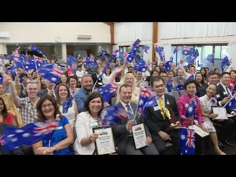 2016 Australia Day WAMCI Citizenship Ceremony