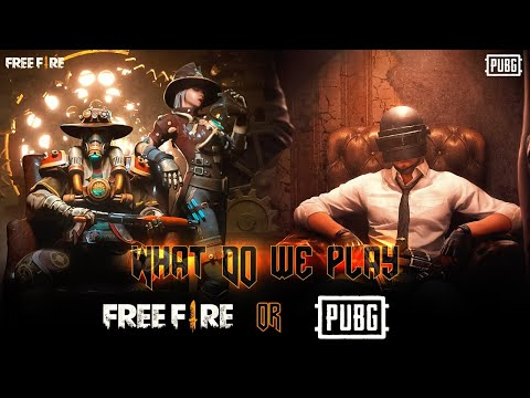 FREE FIRE AND PUBG MOBILE BOOM BAAM GAMEPLAY