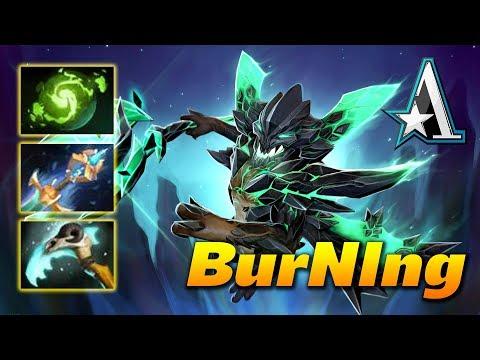 BurNIng Outworld Devourer - Dota 2 Pro Gameplay