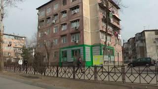 Меняющийся Душанбе. Часть 20. Улица Борбад (Жданова). 65,62 мкр. Январь 2018