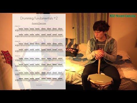 5分やるだけでメキメキと上達するドラムの練習方法 #02 Accent Exercises (アクセント移動)編