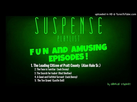 """Fun & Funny Story! ALAN HALE Is """"The Leading Citizen of Pratt County"""" Best of SUSPENSE"""
