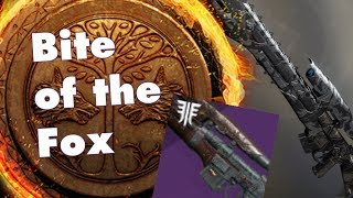 A reason to play Iron Banner this week   Bite of the Fox