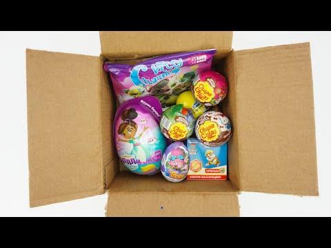 Посылочка с сюрпризами и игрушками