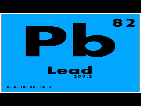 Study guide 82 lead periodic table of elements youtube study guide 82 lead periodic table of elements urtaz Images