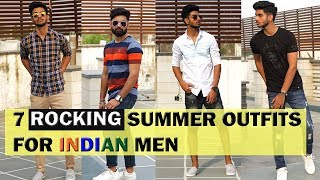 7 EASY and AFFORDABLE summer outfits for men 2018  | Men