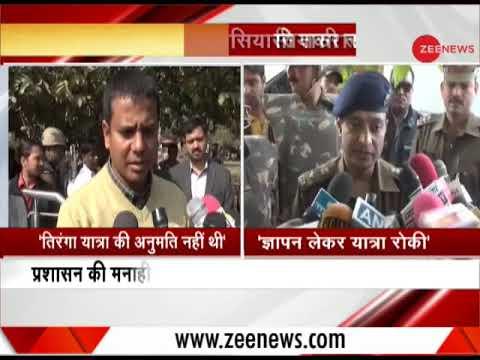 VHP takes out Tiranga Yatra in Agra, Firozabad protesting against Kasganj  violence