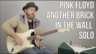 How to Play the Solo to 'Another Brick in the Wall' by Pink Floyd, David Gilmour