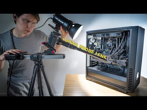 A MACRO View Inside A Computer! (Laowa Probe Lens   Nikon Z)