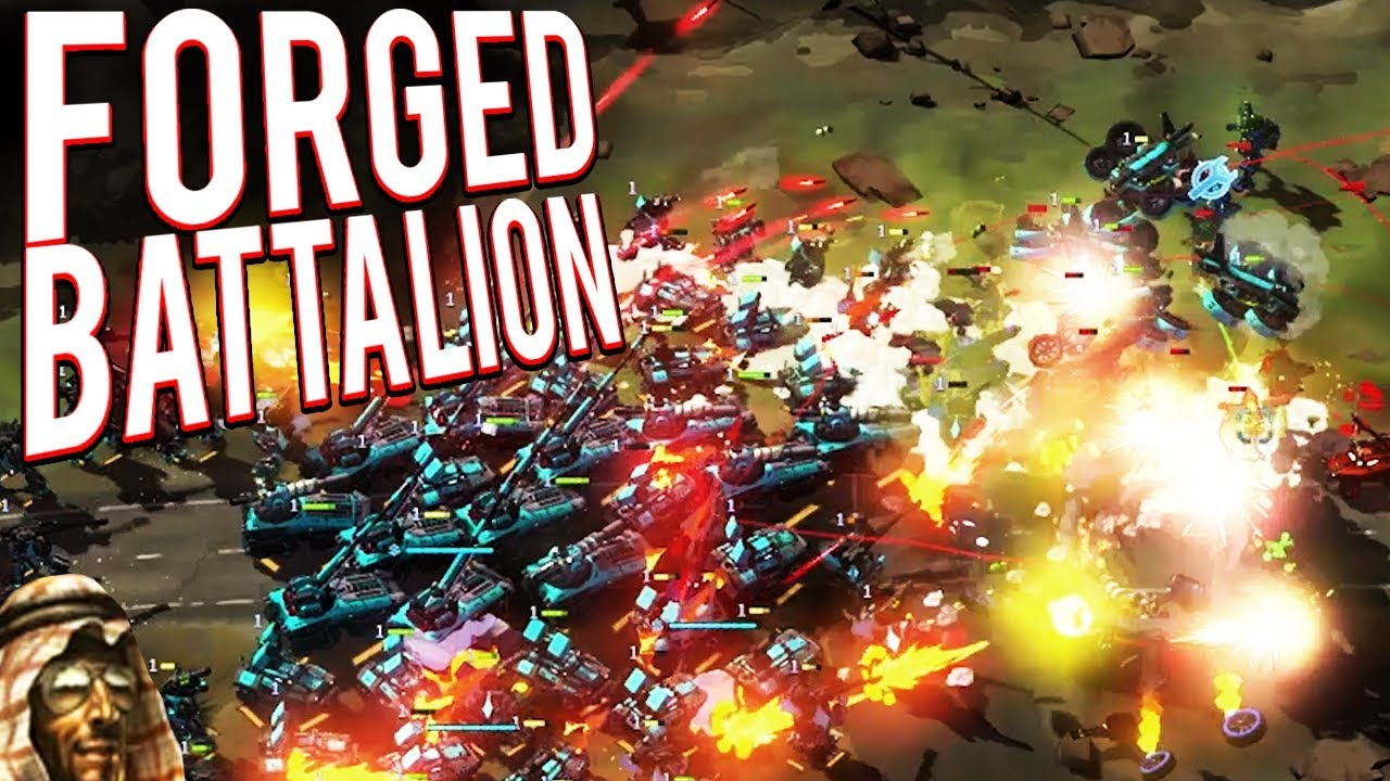 Download ULTIMATE TOXIC AND GLUE TECHNOLOGY! DR THRAX RETURNS!  - FORGED BATTALION GAMEPLAY