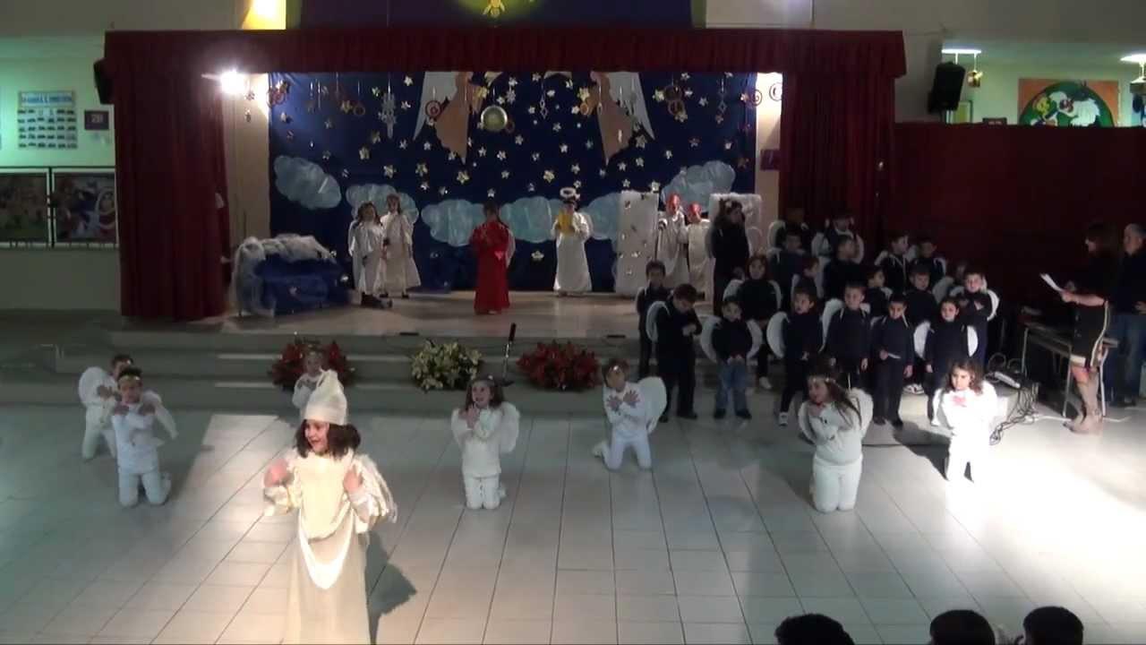 Vestito Da Stella Per Recita Di Natale.Gricignano Ce Recita Di Natale Scuola Elementare 1 19 12 12