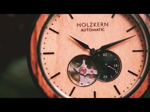 Holzkern - Die Armbanduhren aus Holz und Stein 7