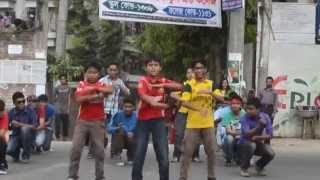 ICC World Cup T20 2014-Flash Mob,Padma Kanon Society