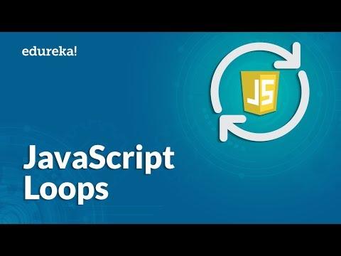 JavaScript Loops Explained | For Loop, While and Do-While Loop | JavaScript Tutorial | Edureka thumbnail