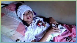 CARING MY LITTLE SISTER | Get Well Soon Aurea! | Aurea & Alexa | VLOG 089