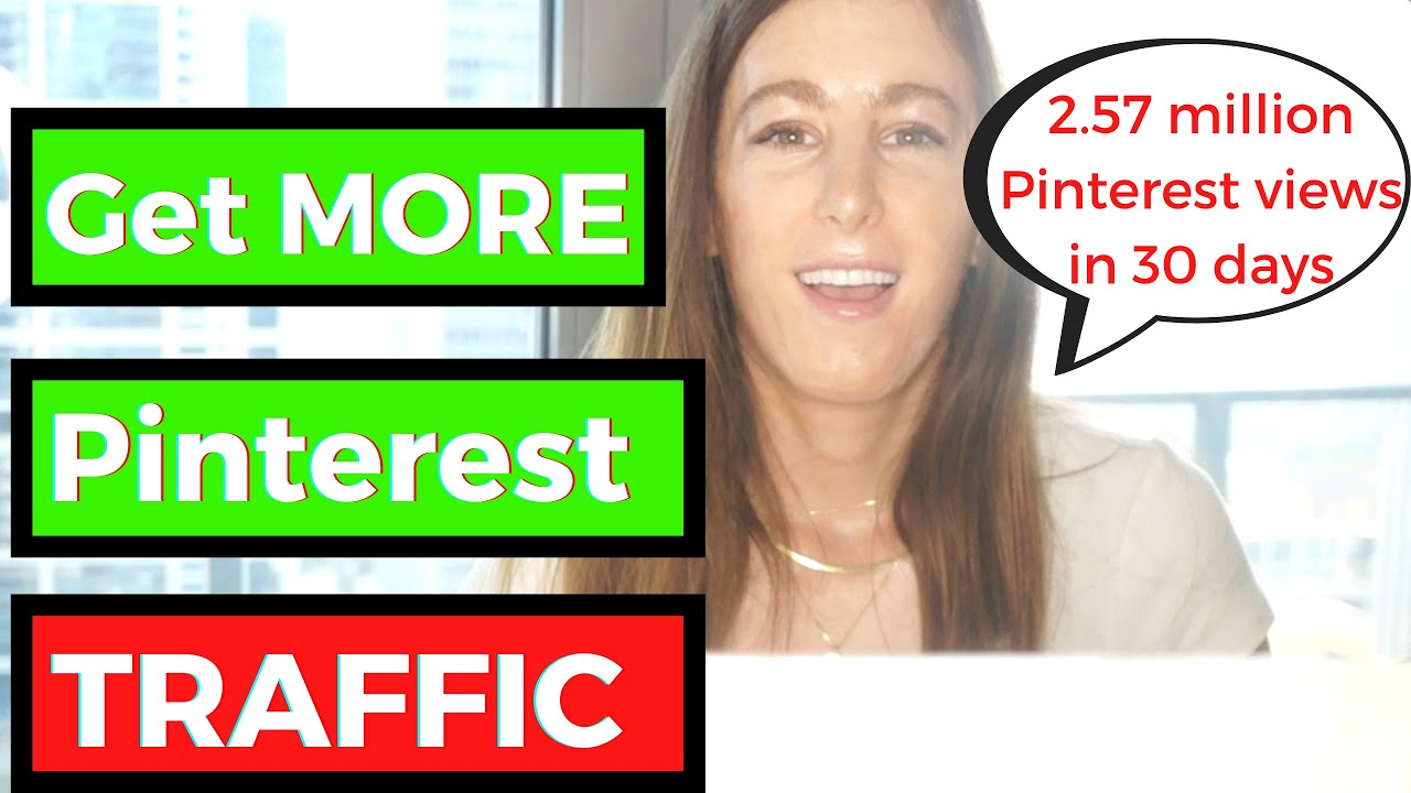 How to Get Pinterest Traffic - My 2,570,000 a month Pinterest Traffic Strategy