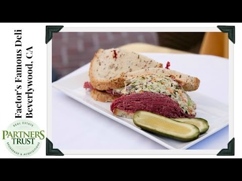 Los Angeles Lifestyle: Factor's Famous Deli, Beverlywood | Things to Do in LA | Partners Trust Mp3