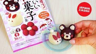 Ciasteczkowe zwierzaki z proszku - JAPANA zjadam #111