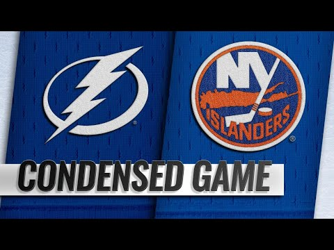 01/13/19 Condensed Game: Lightning @ Islanders
