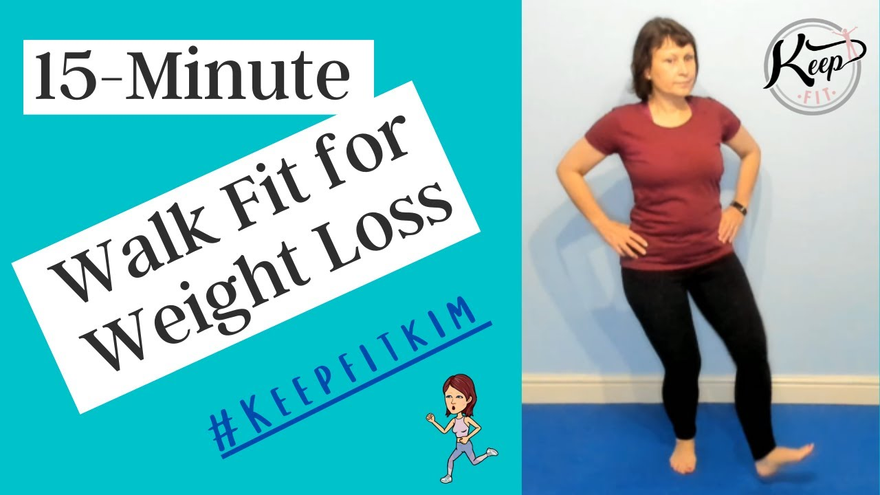 15-Minute Walk Fit workout with Kim