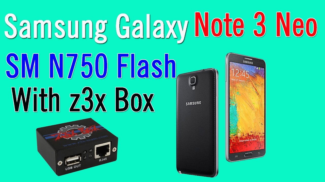 How To Flash Samsung Galaxy Note 3 Neo SM N750