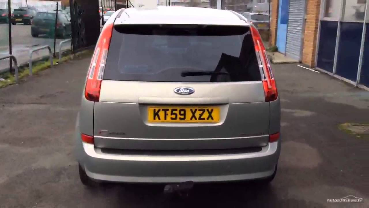 2009 ford focus c max titanium youtube. Black Bedroom Furniture Sets. Home Design Ideas