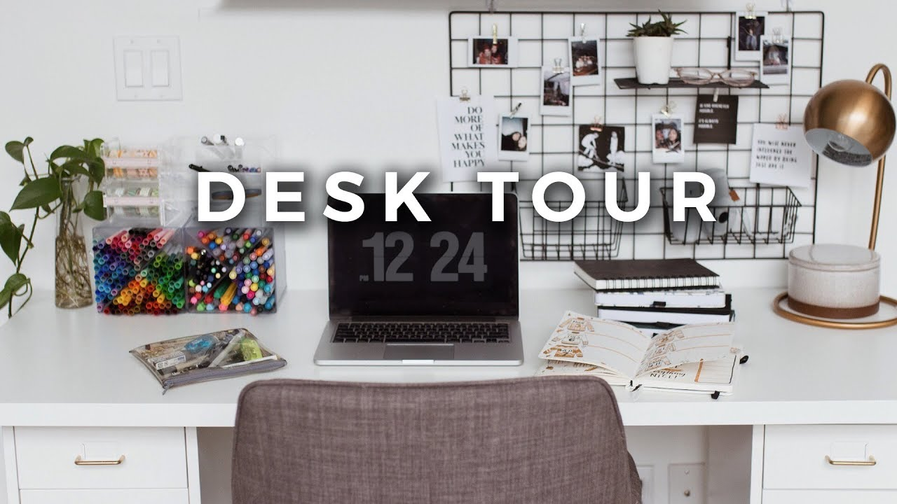 Diy Office Desk Organization