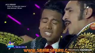 Alejandro Fernandez  sorprendio en YO SOY KIDS Semifinal